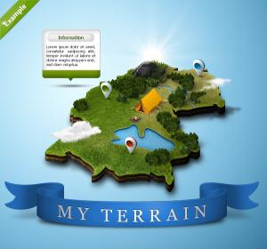 creazione mappe 3d