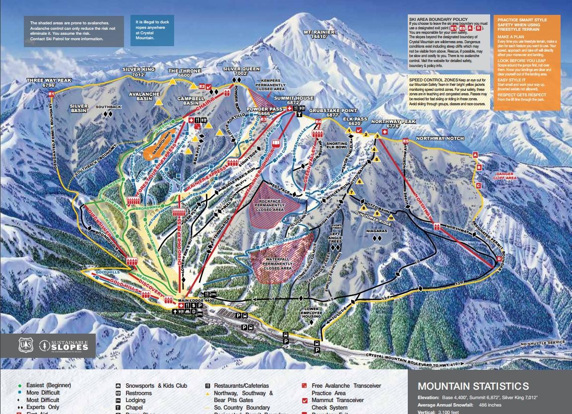 creazione mappe impianti sci