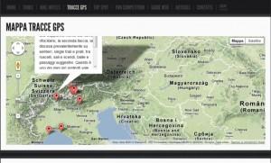 siti e portali con percorsi gps