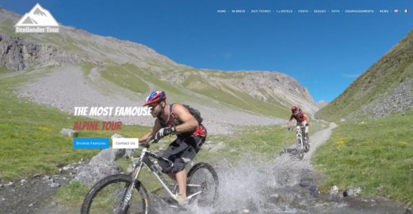 Sito per Dreilander Tour – Vacanze in Mountain Bike