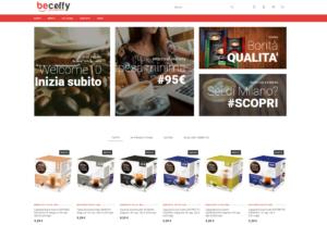 ecommerce in prestahop per becoffy