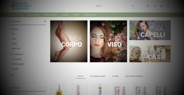 E-commerce in Prestahop per Edelweiss