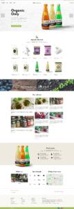 esempio pagina principale ecommerce