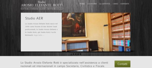 Sito Web per Studio Commercialisti a Milano