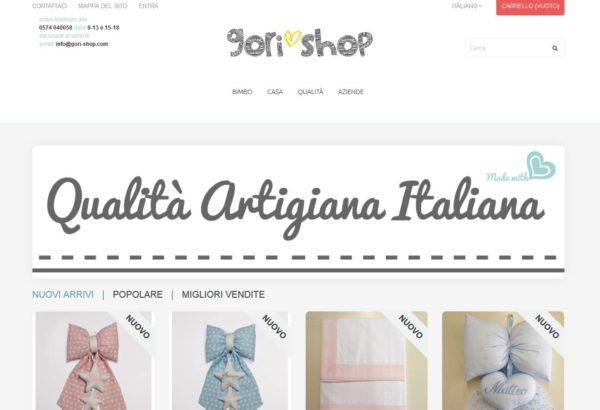 Gori Shop – Ecommerce articoli per neonati