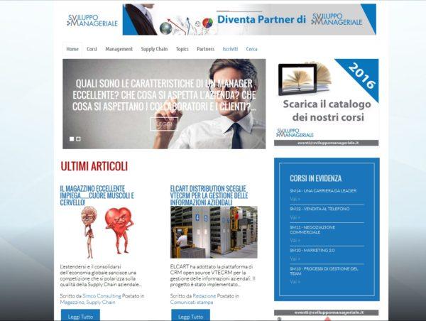 Portale news management aziendale in Joomla