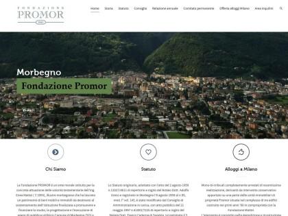 Sito in WordPress per Fondazione Promor