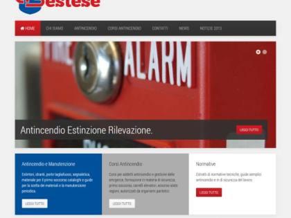 Migrazione e restyling Joomla per Antincendio Sestese