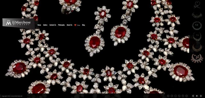 creazione siti per gioielli