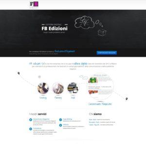 sito web a pagina singola