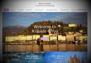 Sito web per guide turistiche