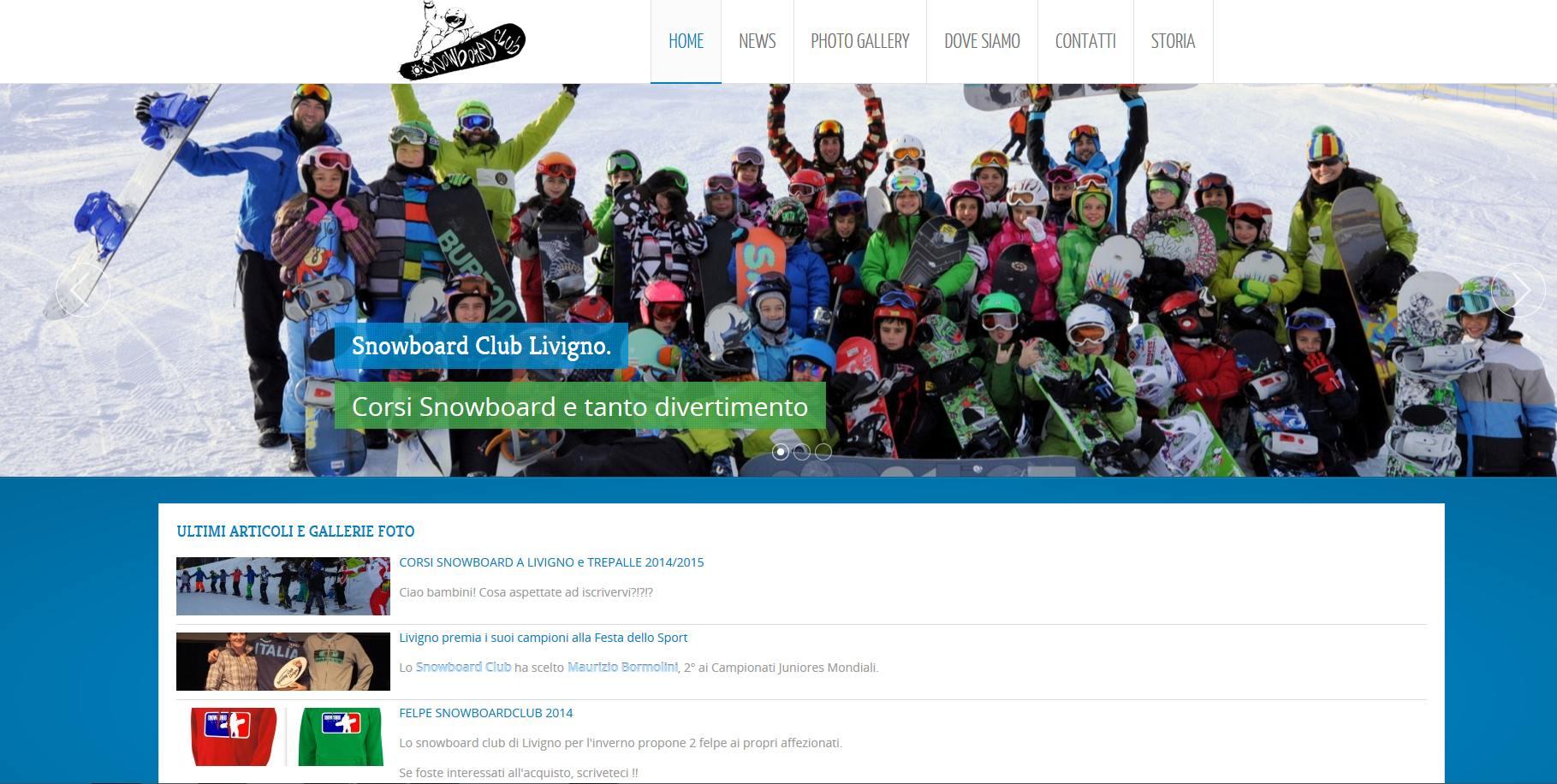 sito per snowboard